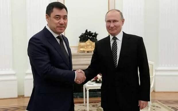 Путин иЖапаров встретятся 24мая вСочи