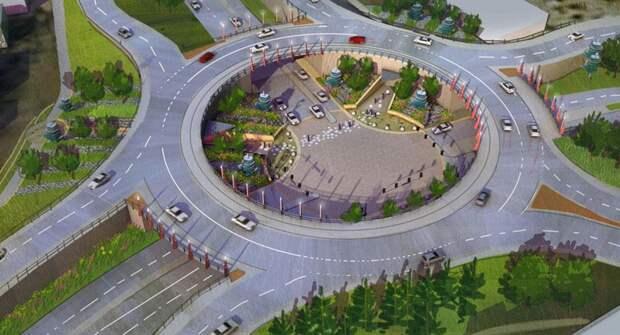 Турбокольцевые перекрестки на дорогах России