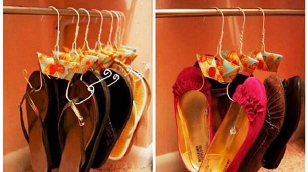 как хранить обувь если мало места