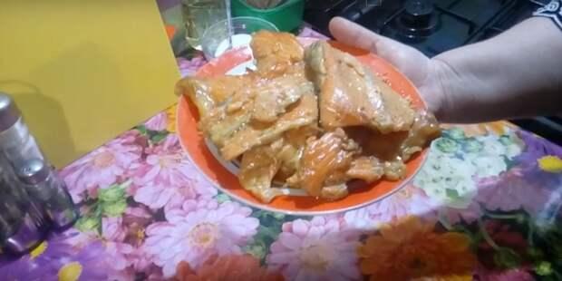 хребты лосося рецепты в духовке