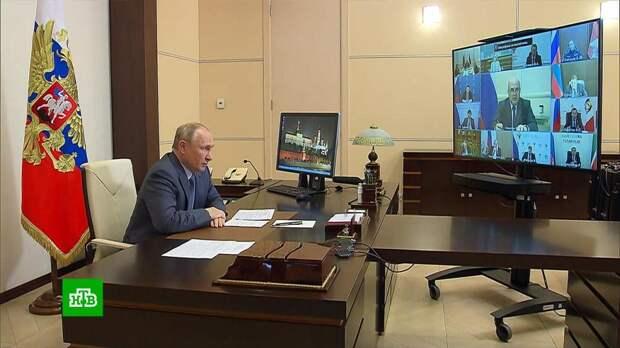 «Нужен строгий порядок»: Путин дал поручения правительству после казанской трагедии