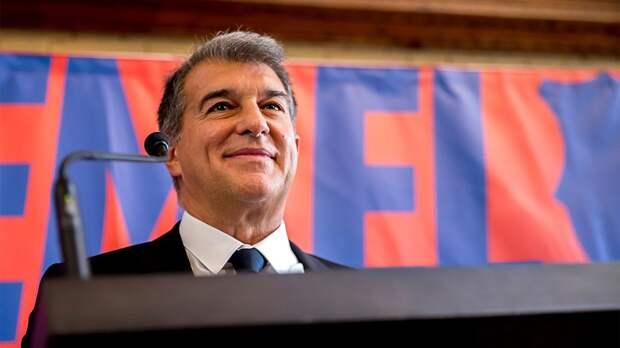 Лапорта победил на выборах президента «Барселоны»