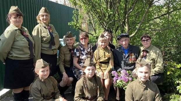 В честь 76-й годовщины Победы в Великой Отечественной войне в Джанкойском районе состоялись праздничные концерты для ветеранов