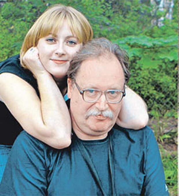 Константин Вильевич Рокоссовский, внук дважды Героя Советского Союза К. К. Рокоссовского, с дочерью Ариадной.