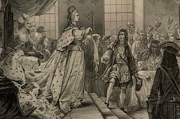 Анна Иоанновна разрывает Кондиции