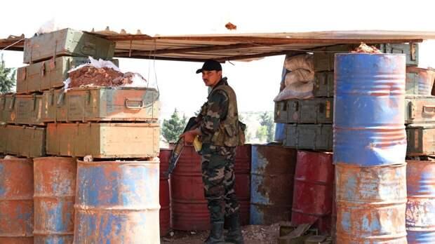 Двое военных стали жертвами нападения боевиков в Сирии