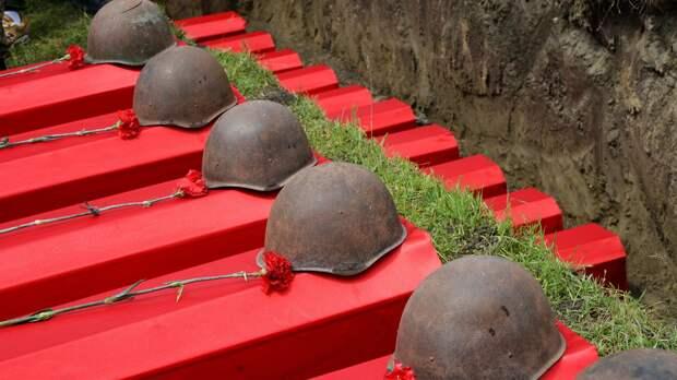 В ОПЗЖ рассказали о перезахоронении останков 96 советских солдат в Запорожской области