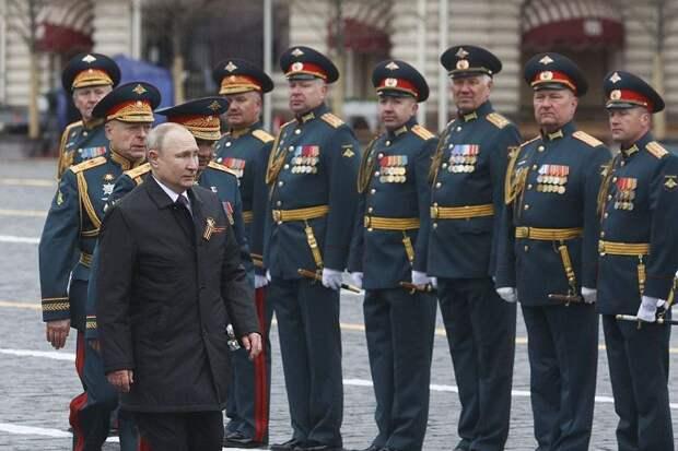 В Москве прошел парад в честь Дня Победы: фотогалерея