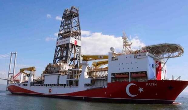 Турция нашла еще 85млрд кубометров газа вЧерном море