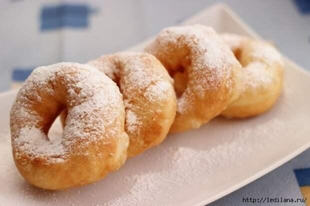 Рецепт ВОЗДУШНЫХ, пышных пончиков на КЕФИРЕ за 15 минут