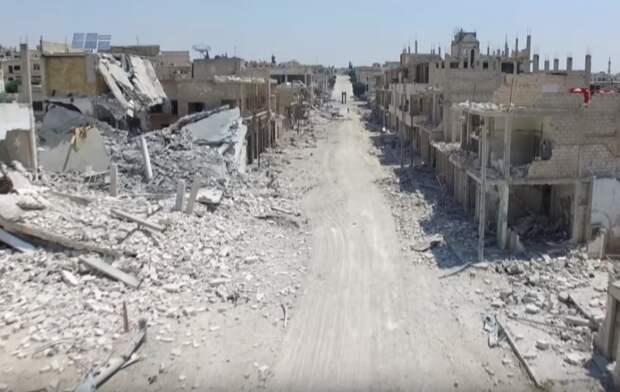 Сирийские войска вытеснили террористов из Хан-Шейхуна в Идлибе
