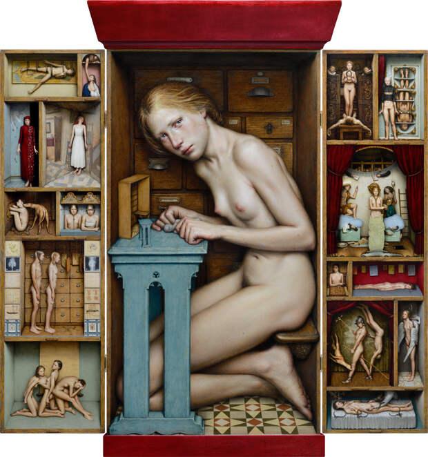 Тайны человеческой души в картинах Дино Валлса