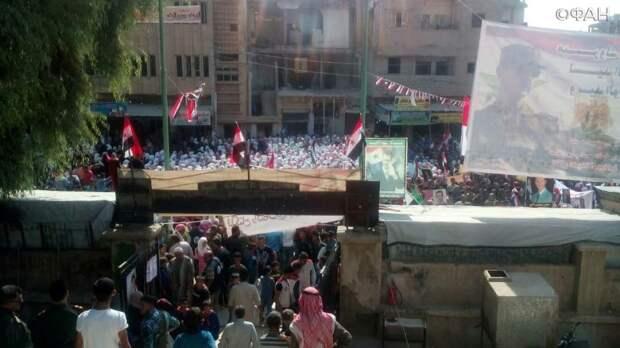 Сирия новости 28 ноября 07.00: курды-радикалы атаковали митингующих в Дейр-эз-Зоре, обстрел «Нусры» в Идлибе