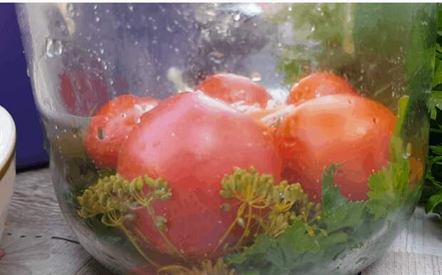 Помидоры в капусте на зиму: необычно, доступно и безумно вкусно