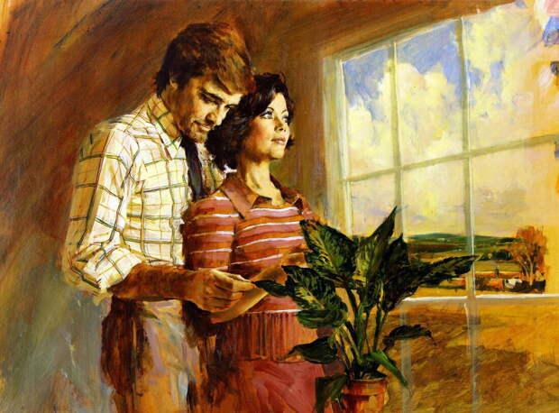 Первая школьная любовь так и не переросла в счастливую, семейную жизнь.