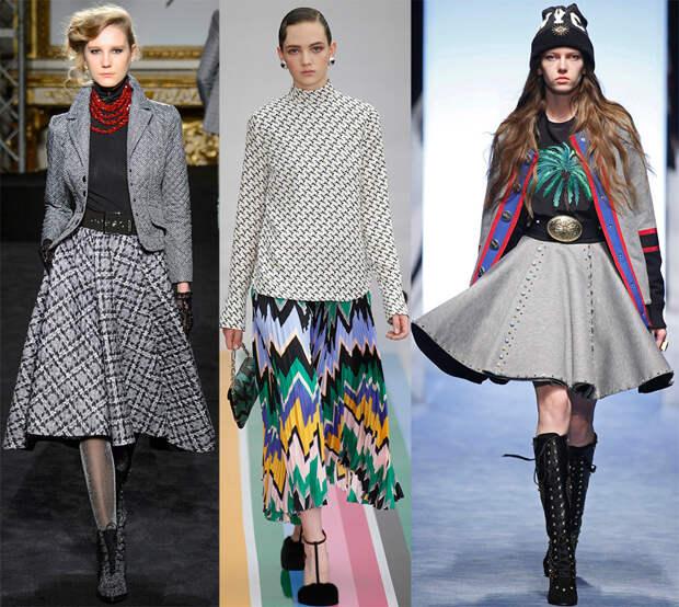 Модные юбки 2016-2017 года