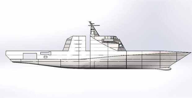 Новый корвет «Дерзкий» — первый корабль секретного проекта 20386