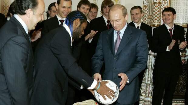 «На приеме у Путина мы с Вагнером сидели потерянными». Карвальо — о встрече с президентом России