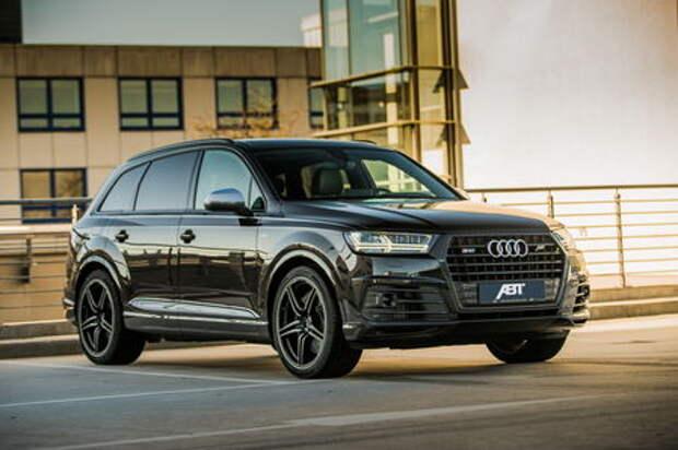 Тяги много не бывает: Audi SQ7 TDI сдвинет континенты