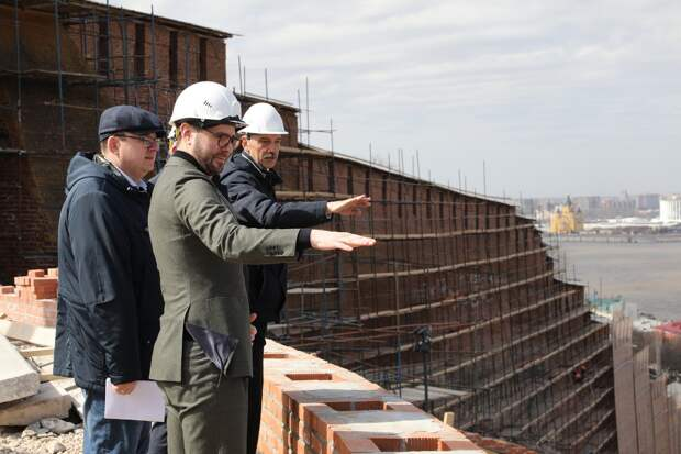 Чкаловская лестница откроется 1 августа: смотрим, как проходит реконструкция в Нижнем Новгороде