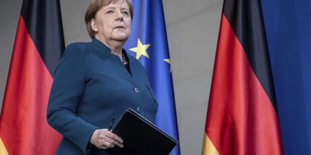 Меркель проводит встречу с Тихановской