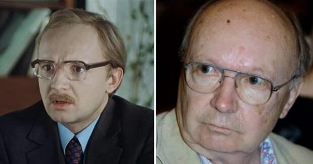 Актеры легендарного «Служебного романа» тогда и сейчас