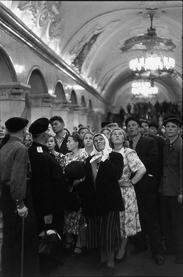 Cartier Bresson16 25 кадров Анри Картье Брессона о советской жизни в 1954 году
