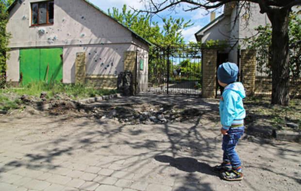 В ДНР под обстрел украинской армии попал интернат