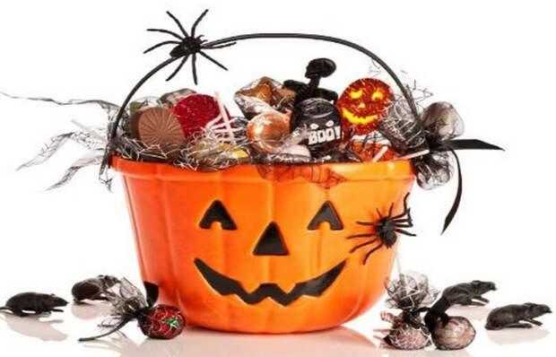 Фаст-фуд: $ 2 млрд на конфеты только за Хэллоуин.