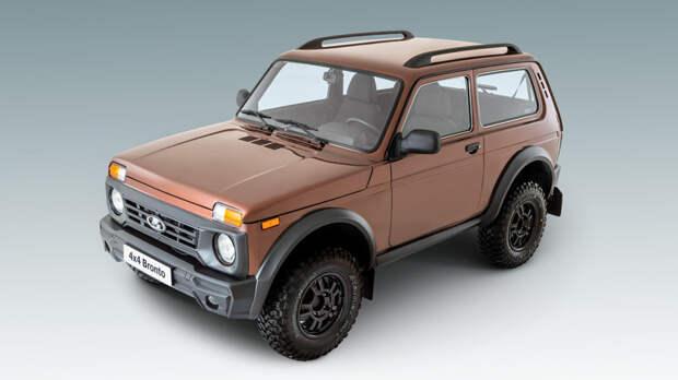 5. Lada 4×4 Bronto поступила в продажу в России Bollinger B1, Rezvani Motors Tank, Tj Cruiser, авто