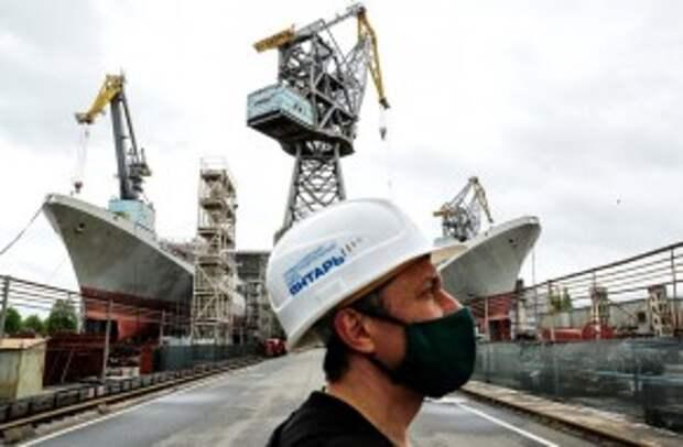 Россия смогла возродить из пепла собственное судостроение