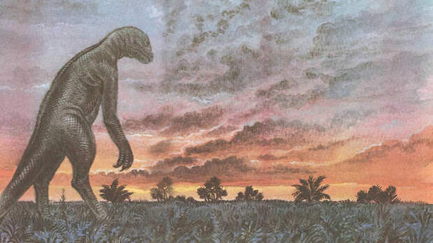 Картинка с одиноким динозавром из детской книжки стала мемом в Сети