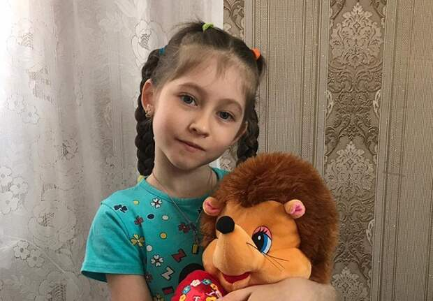 Шестилетней Полине из Краснодара нужна наша помощь