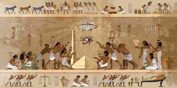 Египетский пришелец в Долине царей