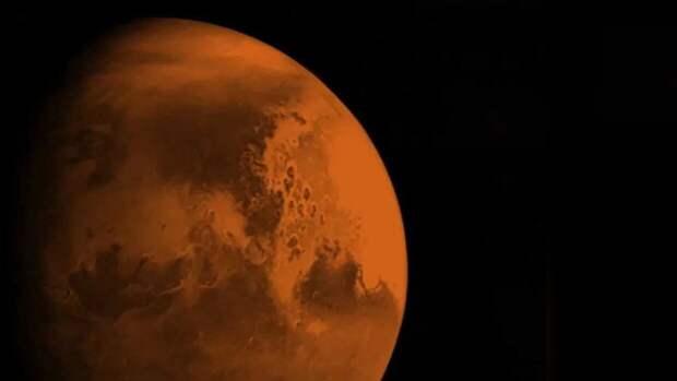 Очертания необычного объекта зафиксировали на поверхности Марса