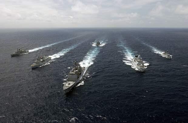 Попов: в район достройки «Северного потока-2» отправлены боевые корабли