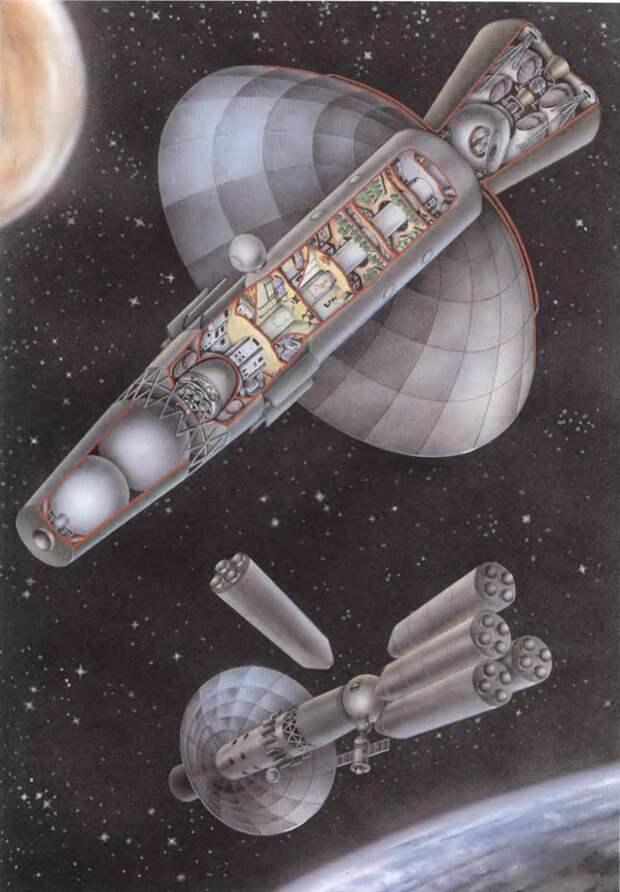 И его первым этапом стала разработка тяжелого межпланетного корабля Королев Глушко Луна Н 1 Бабакин Луноход, СССР, космос