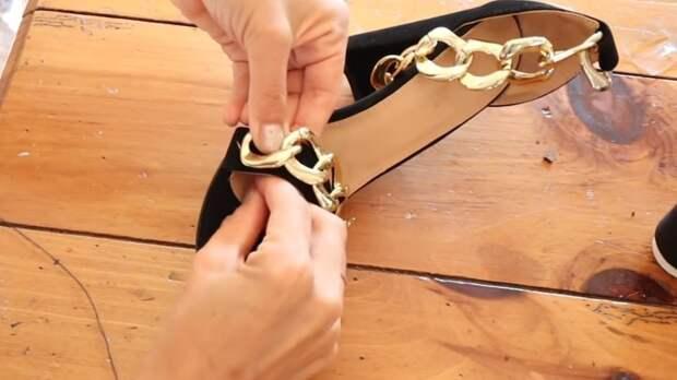 Босоножки от Версаче за 1000$ своими руками. Получается почти один в один