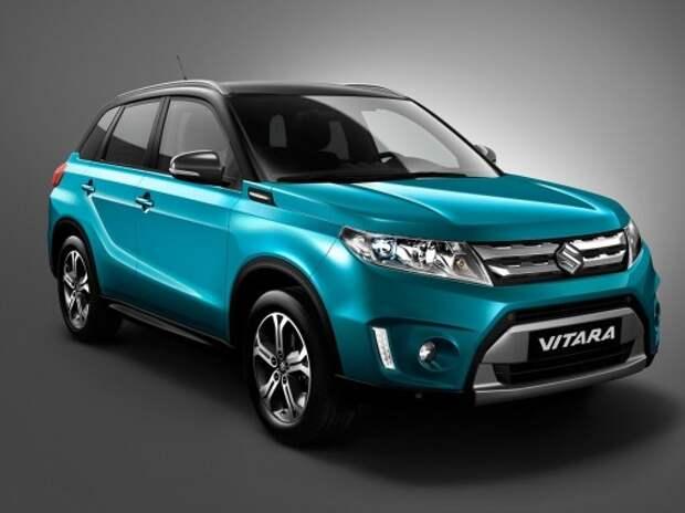 Suzuki показала новый компактный кроссовер Vitara