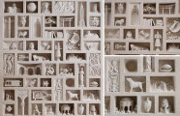 Art: Британец вырезает крохотные скульптуры из камня, которые напиминают средневеновые шедевры