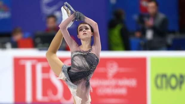 Видео победного проката Щербаковой на чемпионате России