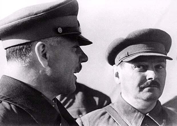 Ворошилов и Жданов, лето 1941 г.