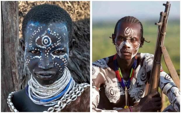 Боевой раскрас и дикие суеверия: удивительные фотографии племени каро