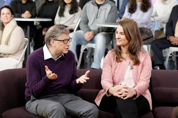 Билл и Мелинда Гейтс. / Фото: www.rbc.ru