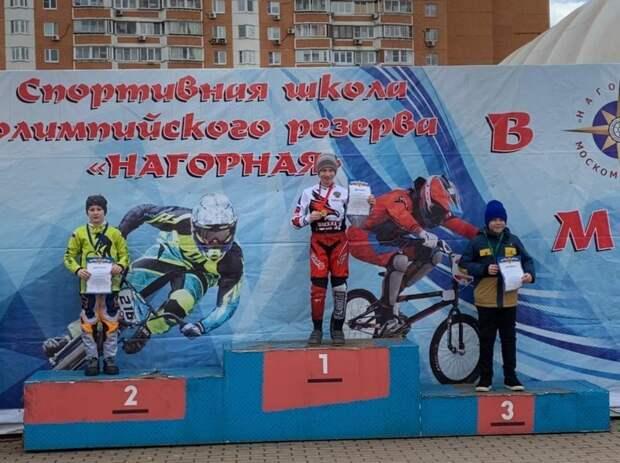 Десятилетний велосипедист из Марьина стал призером BMX-гонки