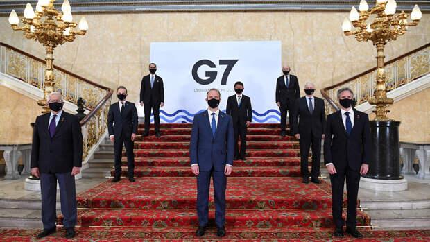 Байден и Макрон обсудили политику в отношении РФ и КНР на саммите G7