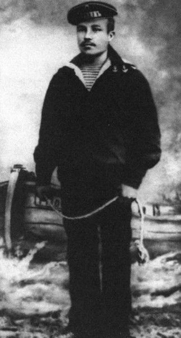 Матрос Алексей Новиков. Кронштадт, 1902 г.