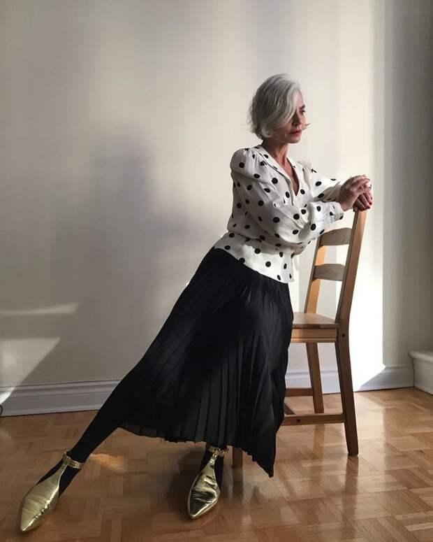 Как подобрать блузку женщине элегантного возраста
