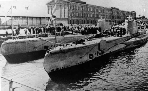 Подводные минные заградители