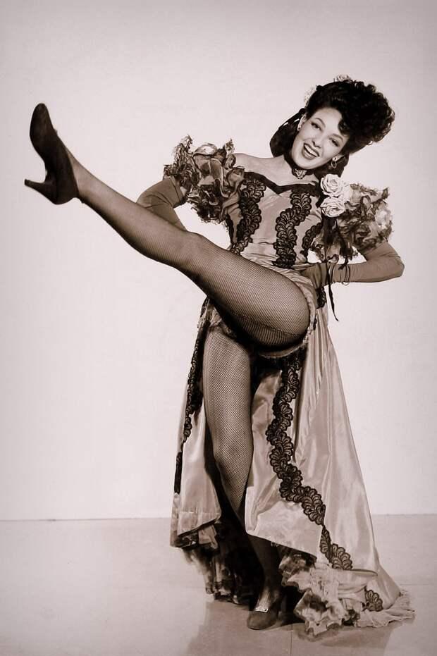 Красотка из 40-ых Линда Дарнелл.